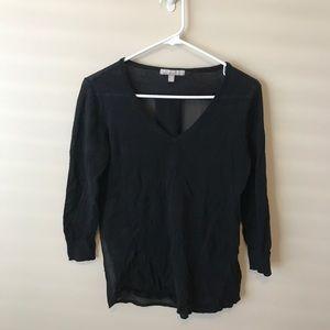 Banana Republic Black Lightweight Sweater